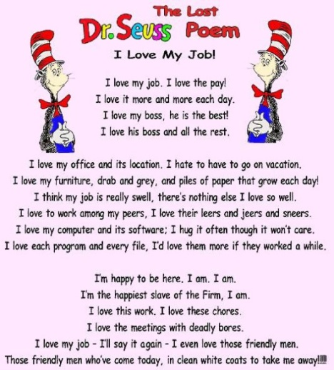Dr Seuss Poetry Flow Psychology
